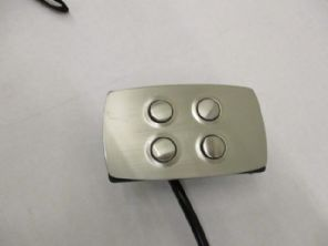 STYLISH ZINC ALLOY METAL OKIN COMPATIBLE 4 BUTTON CONTROLLER
